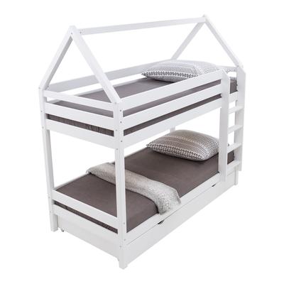 Łóżko piętrowe PAWEŁ i GAWEŁ z szufladą