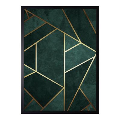Obraz GREEN ABSTRACT III 53x73 cm