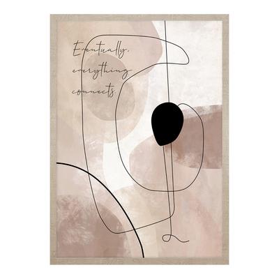 Obraz CREAMY LINES I 53x73 cm