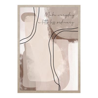 Obraz CREAMY LINES II 53x73 cm