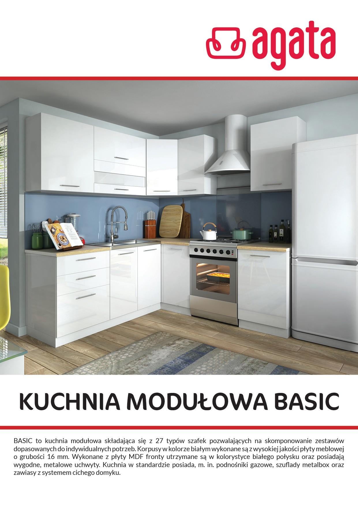 Gazetka Kuchenna Basic Salony Agata